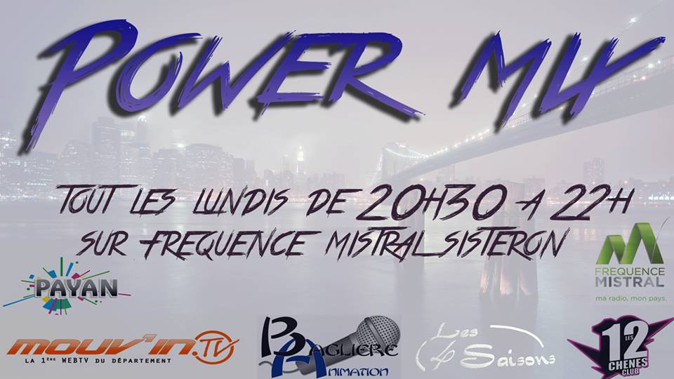 Power Mix du lundi 9 octobre 2017