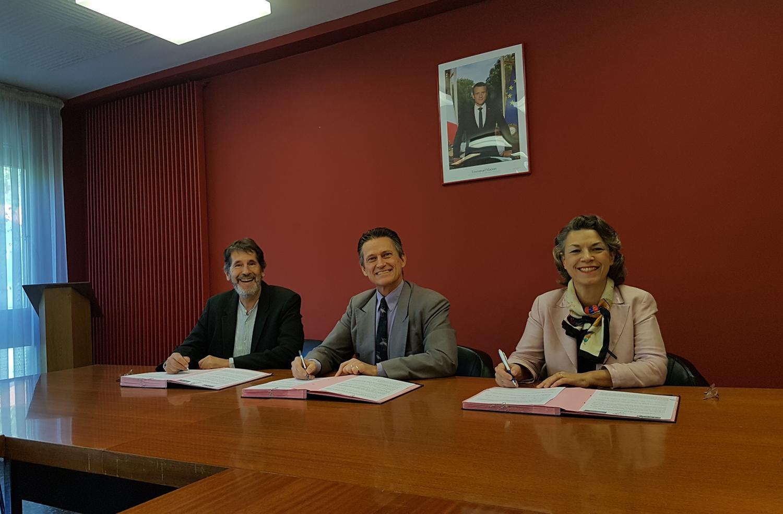 Hernry Etchevvery, Eric Lavis et Sophie Fouace
