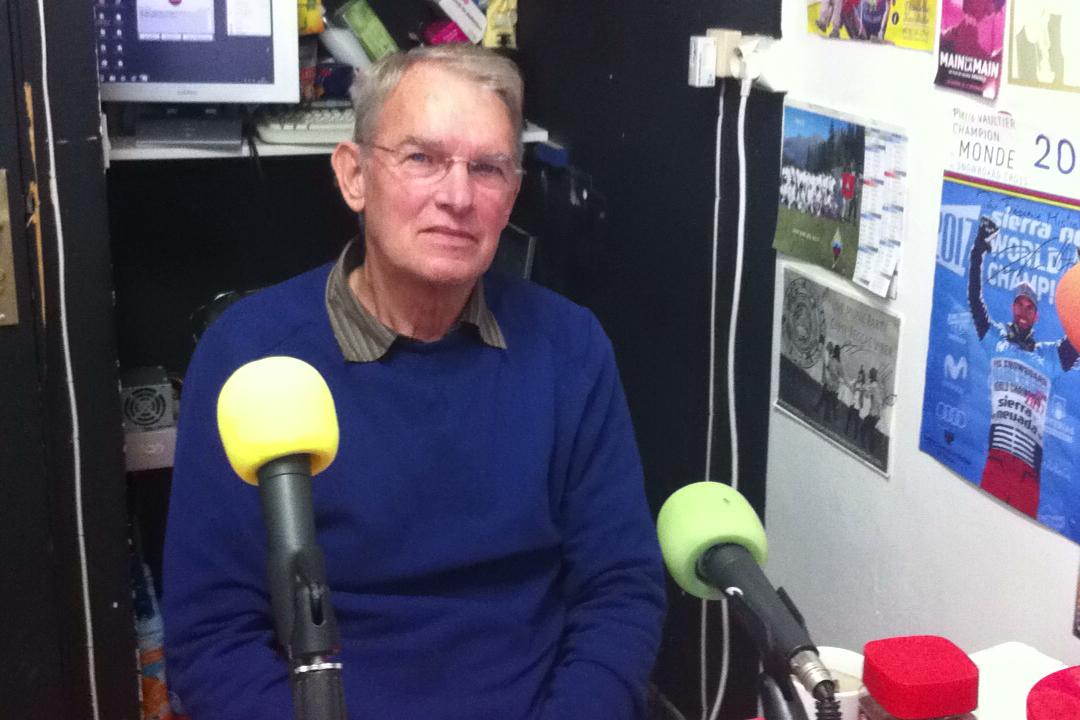 Xavier Jamet, un responsable du CCFD-Terre Solidaire de Briançon