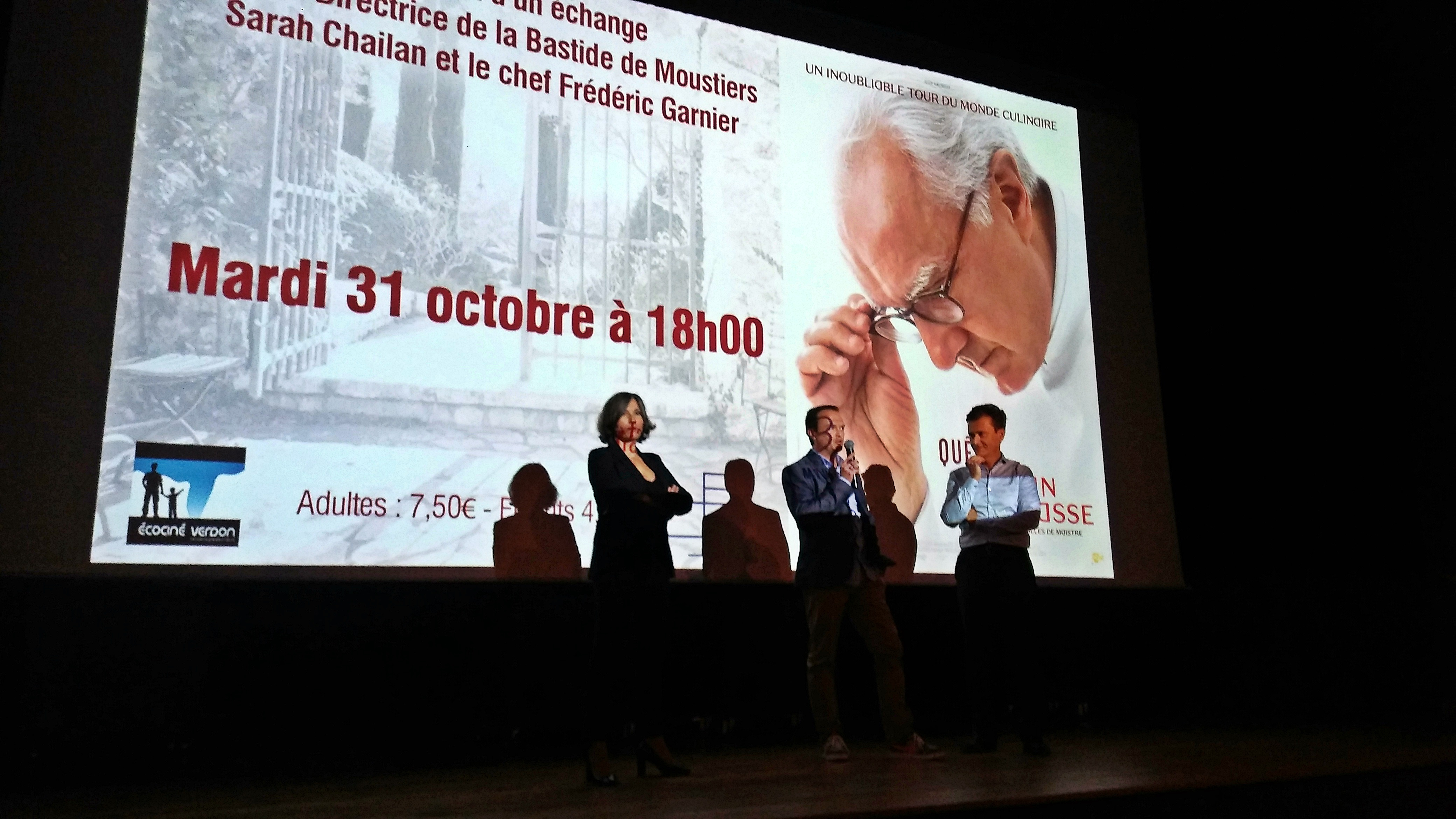 Alain Ducasse, des fourneaux au grand écran