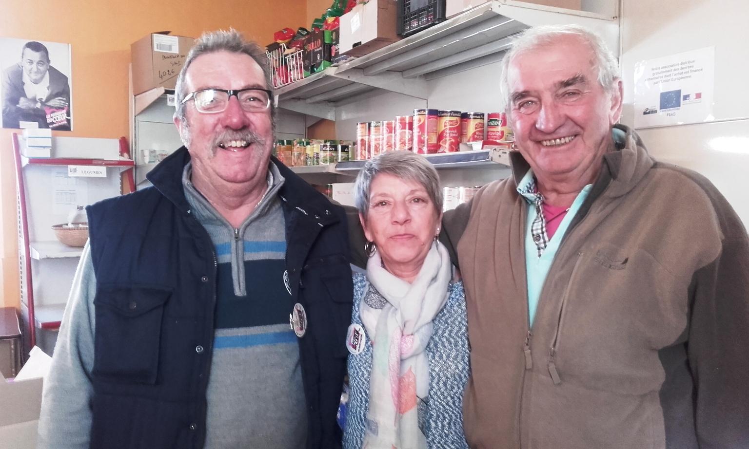 Alain, Josiane et Yvon