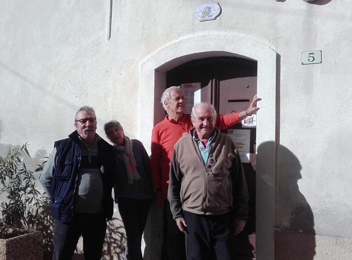 Alain, Josiane, Bernard et Yvon