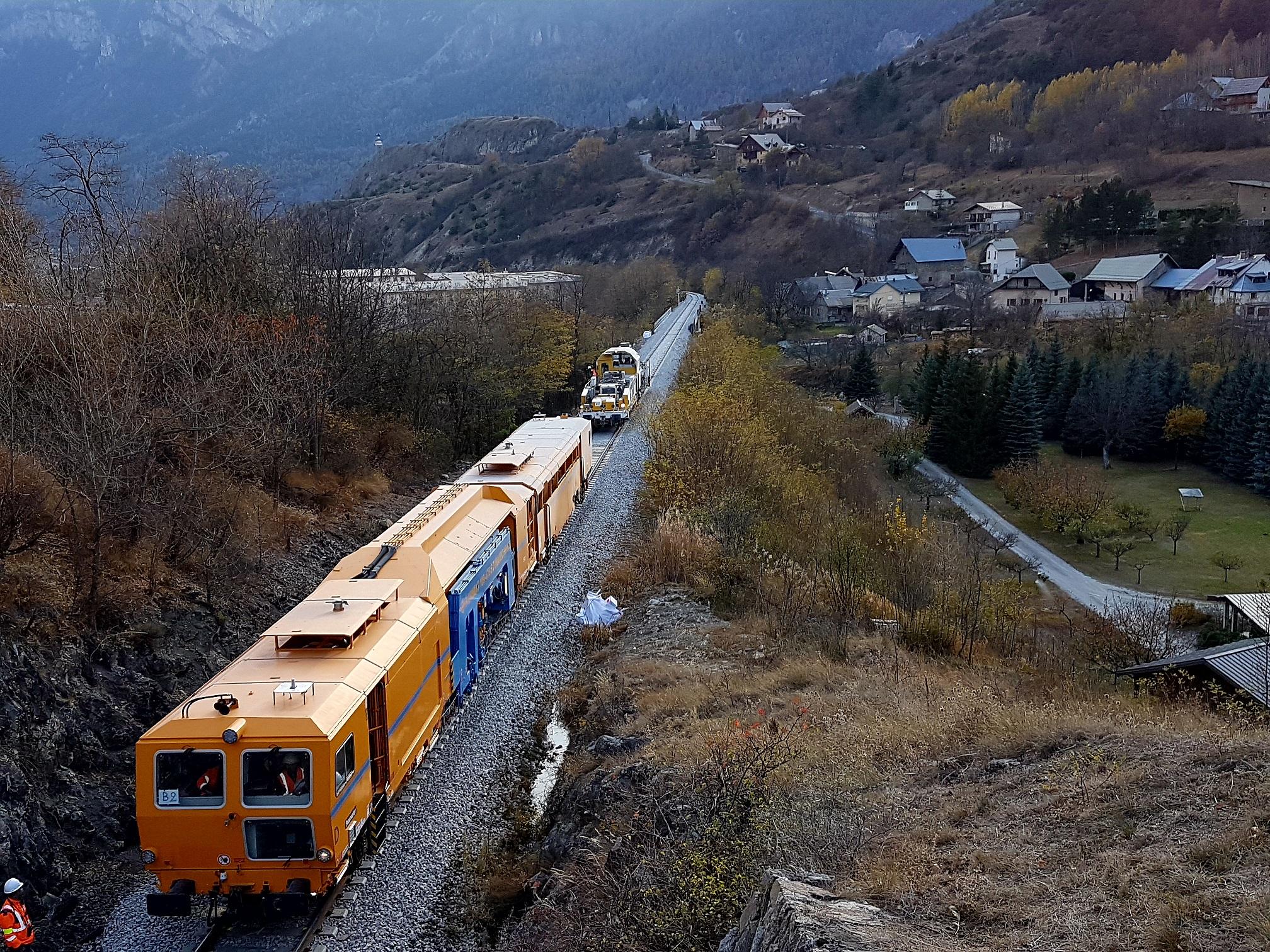 Le train est assurément un sujet fédérateur dans les Hautes-Alpes