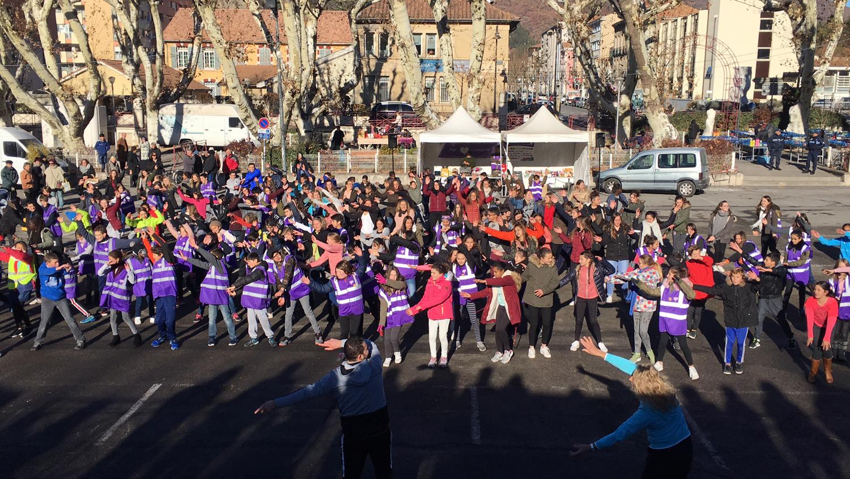 Après le flash mob des collégiens, le téléthon continue à Digne