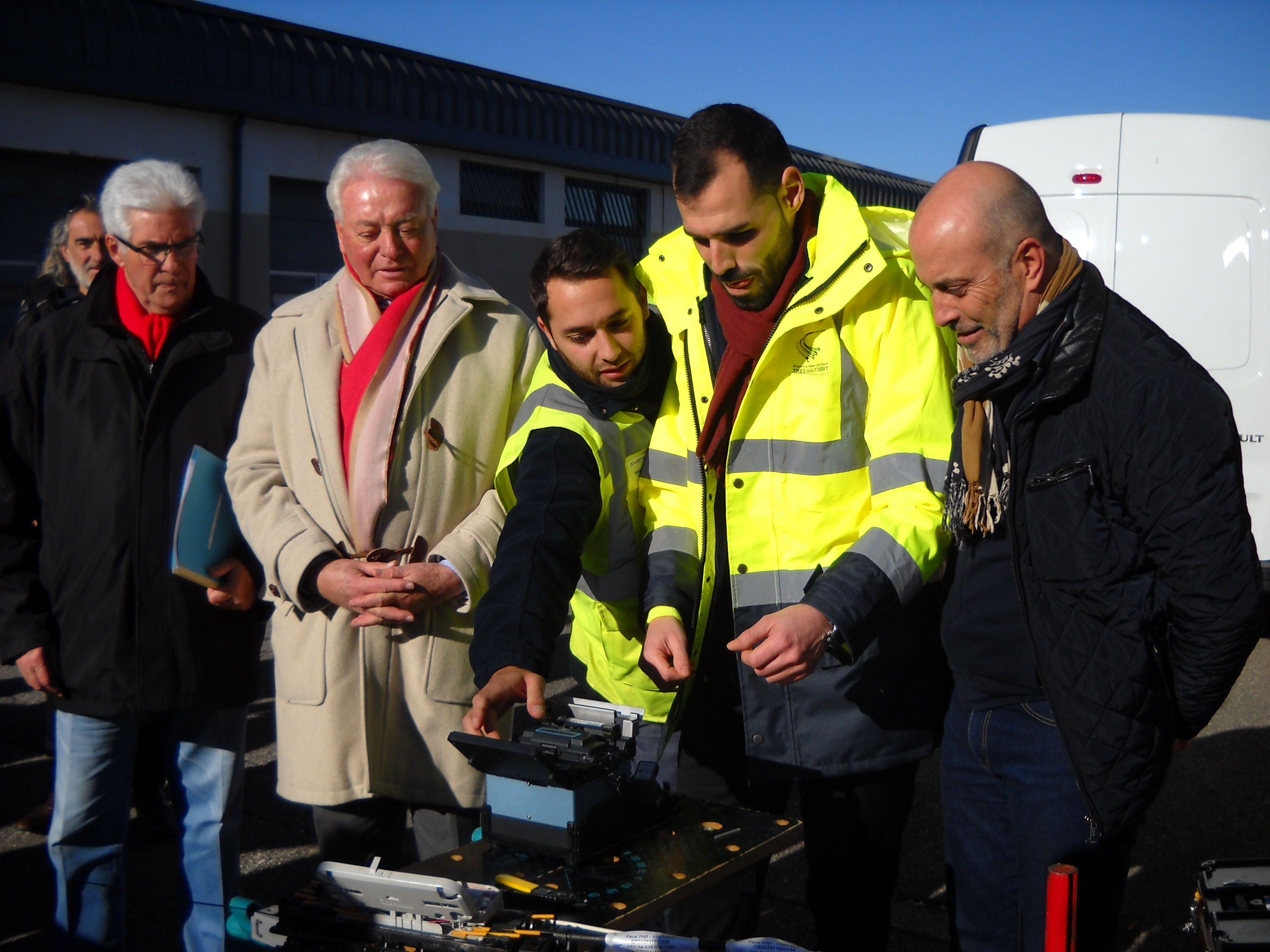 La fibre optique arrive à Sisteron