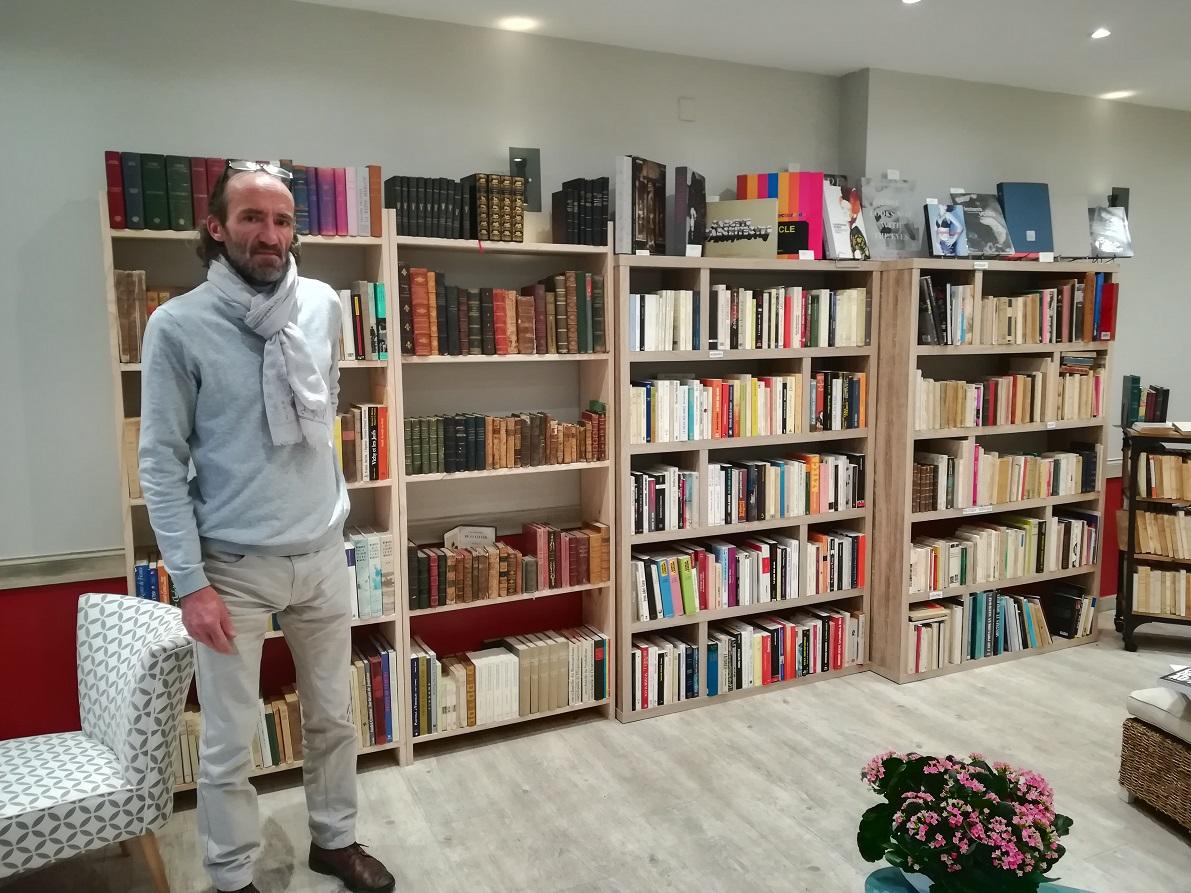 « Aux goûts du livre » : un bouquiniste hors du commun