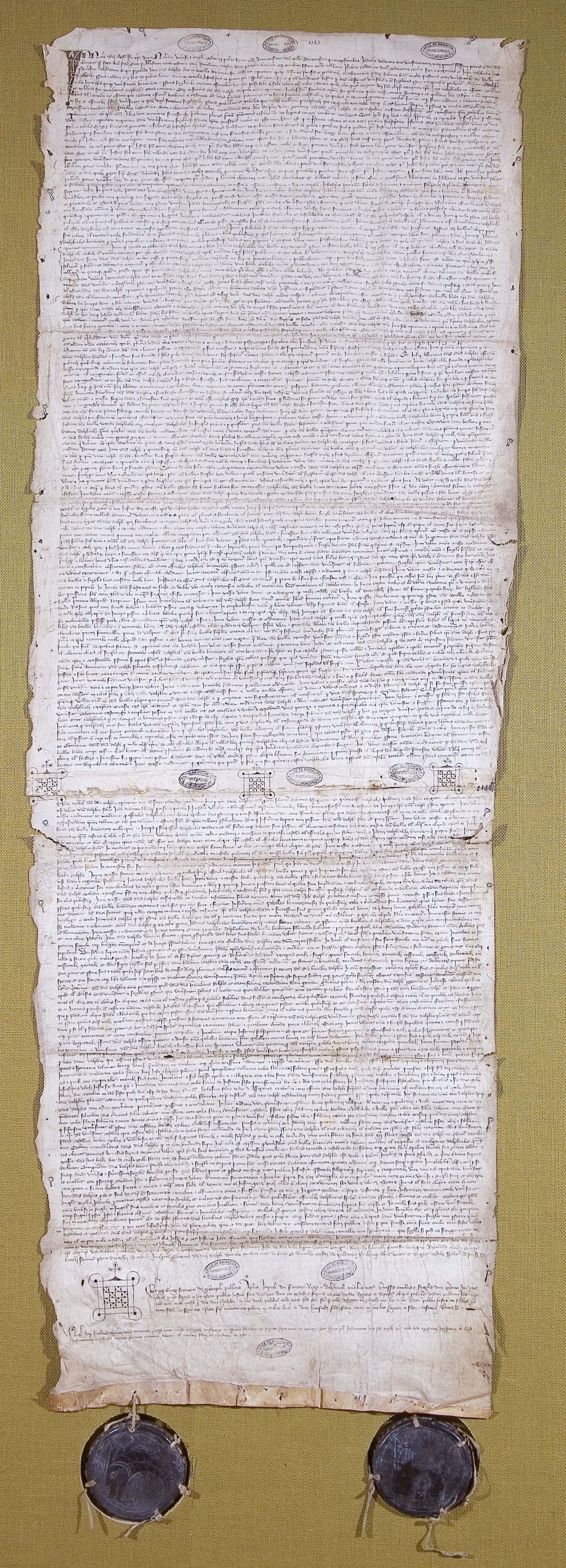 Charte des libertés briançonnaises 1343