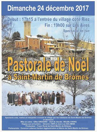 Saint-Martin de Brômes donne sa Pastorale de Noël dimanche