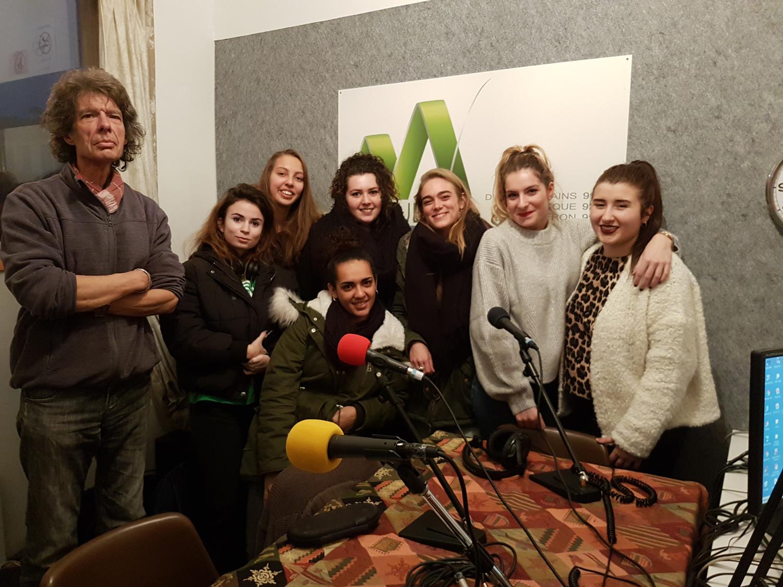 Patrick Romieu présente la semaine du son avec les étudiantes GACO
