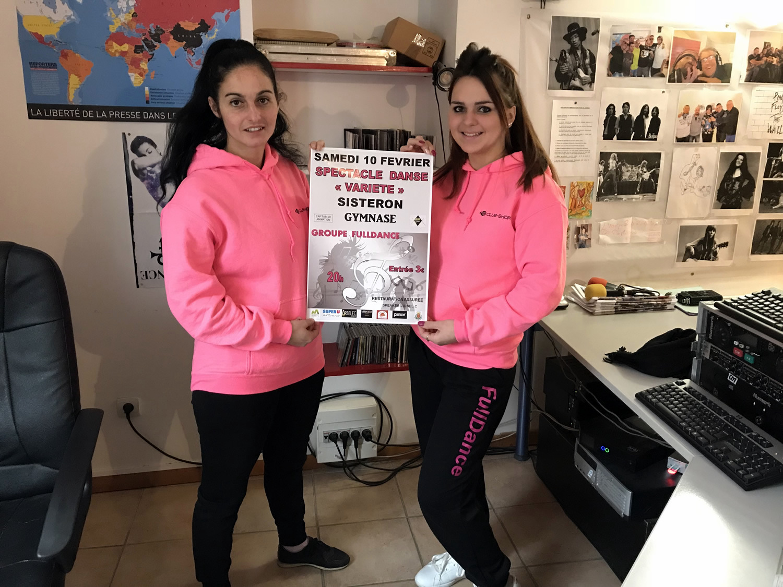 Les danseuses du FullDance sur scène samedi à Sisteron !