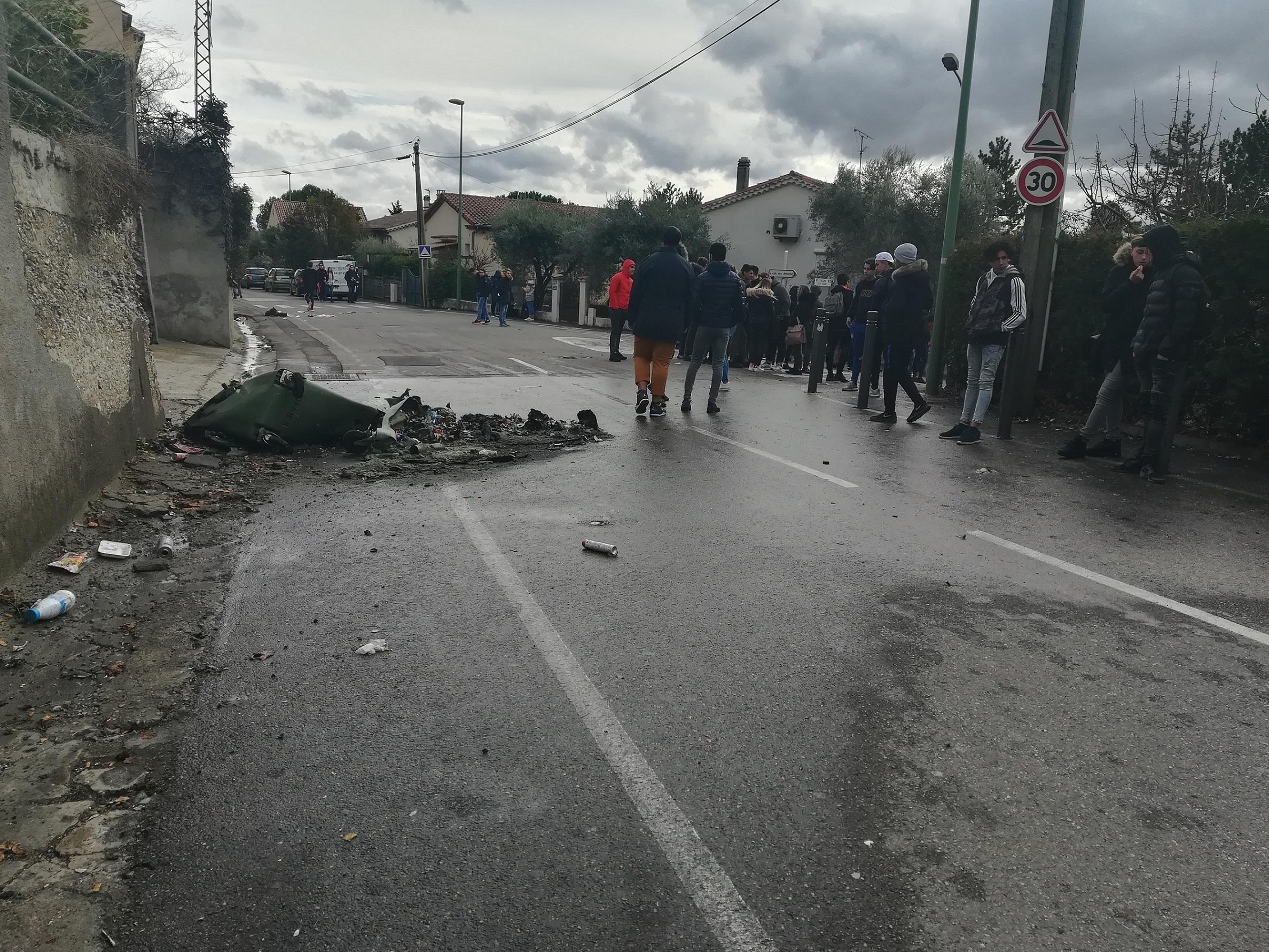 Une manifestation lycéenne a dégénéré hier à Manosque