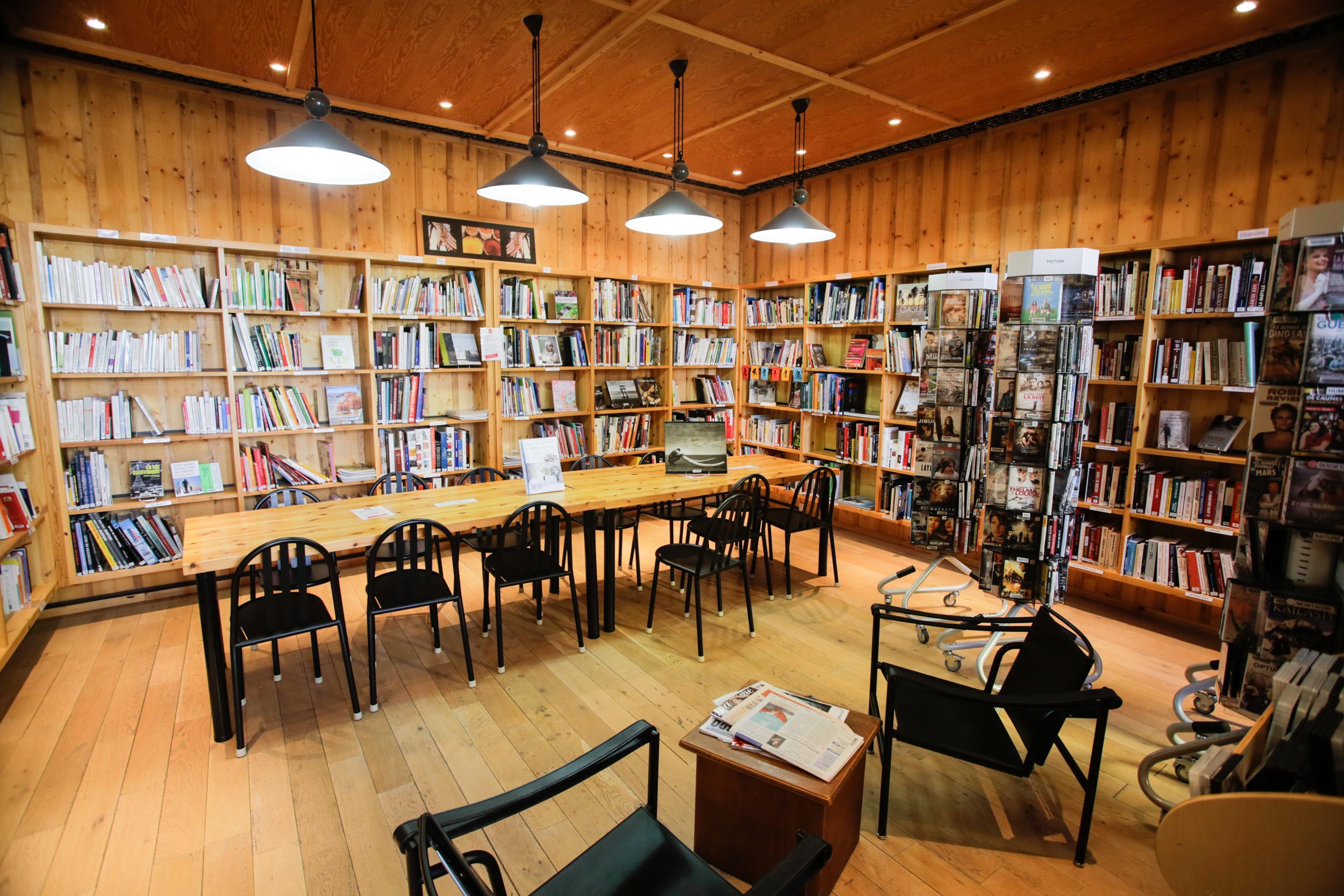 Au cœur d'une dynamique bibliothèque