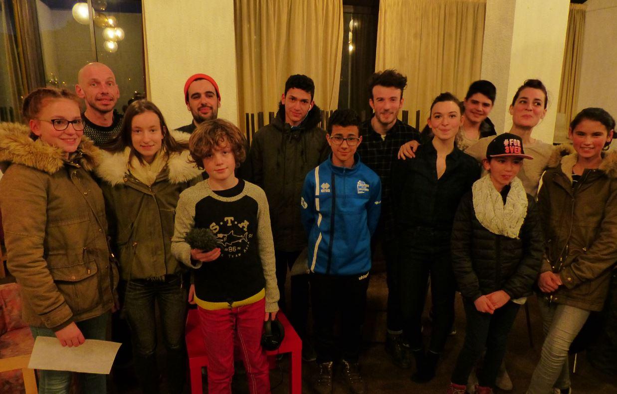 Rock'N'Chair avec nos jeunes reporteurs