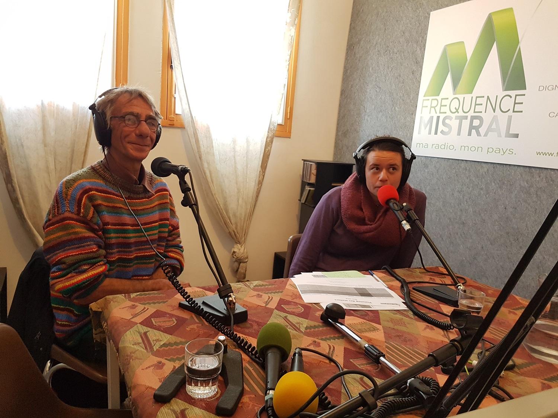Eric Izarn et Mathilde Huguenin