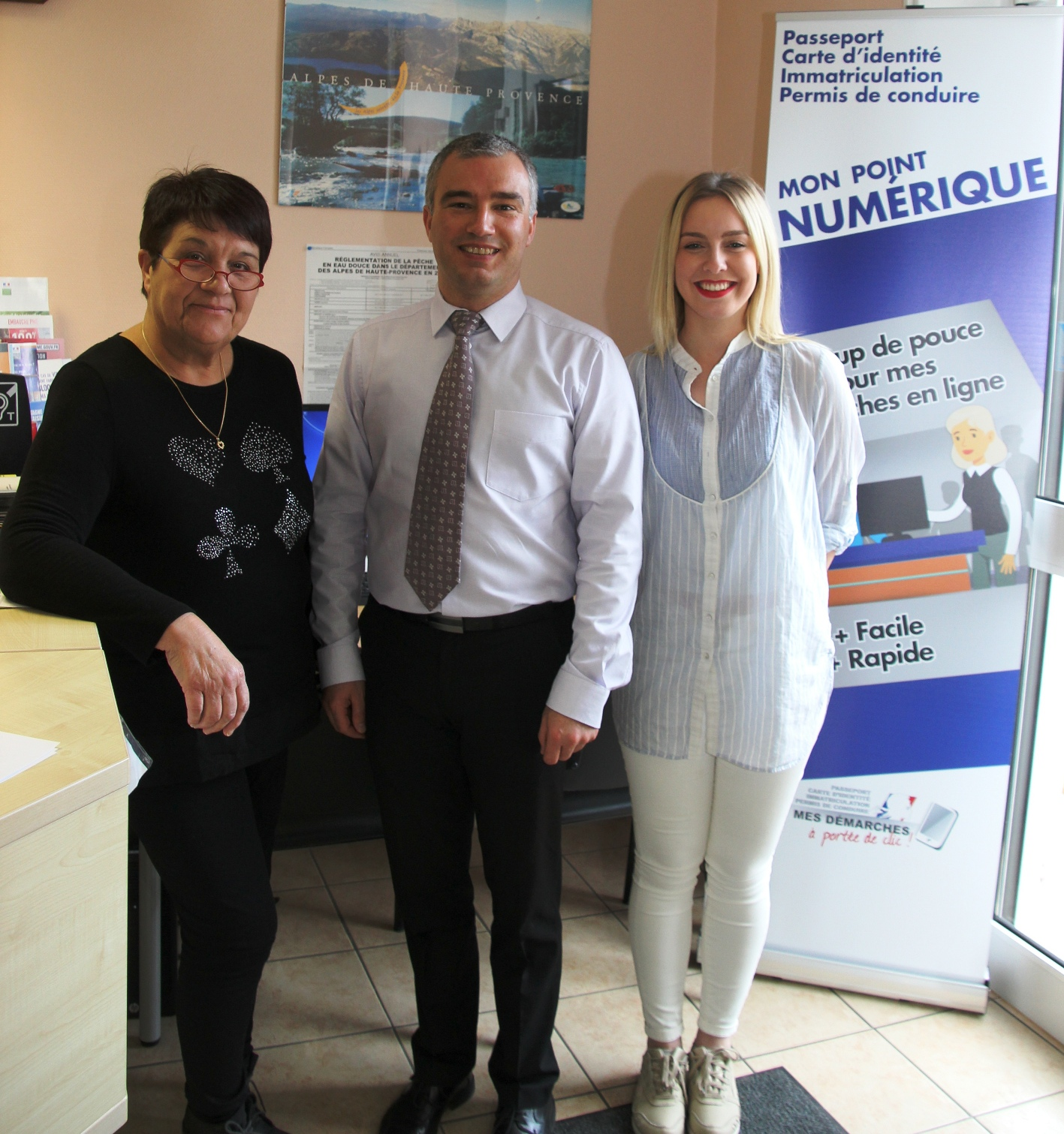 Joëlle Sereno, Christophe Duverne, Johanna Geffroy -  Photo Line Tilleman