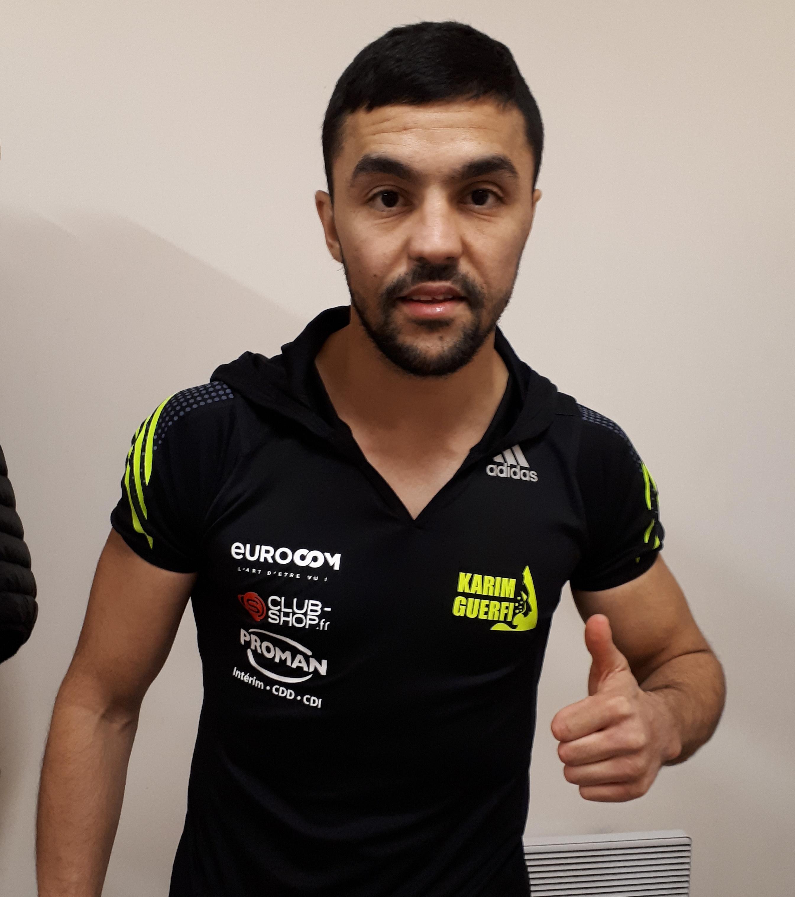 Le boxeur Karim Guerfi vise un titre mondial