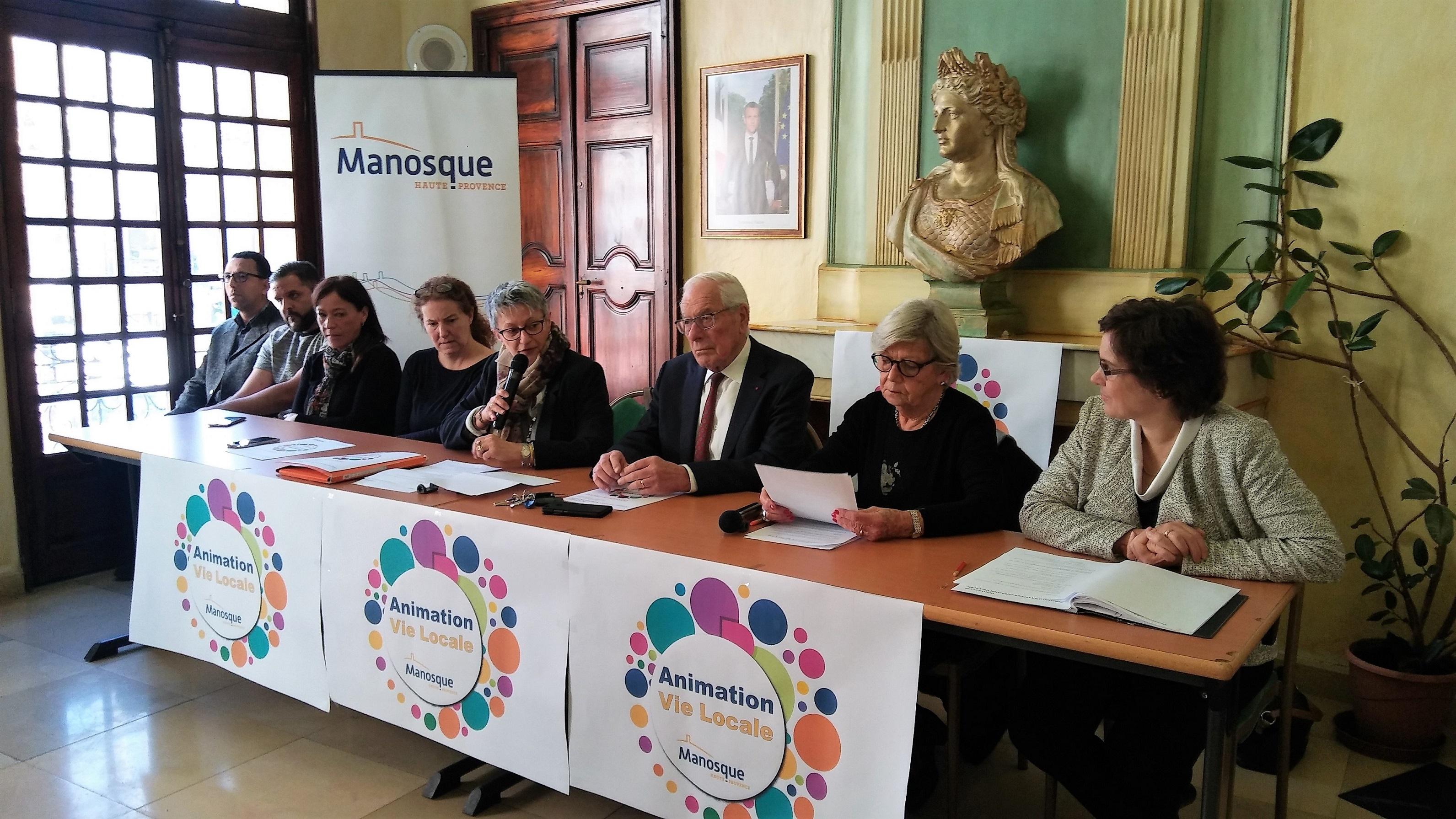 La ville de Manosque entend animer la vie locale