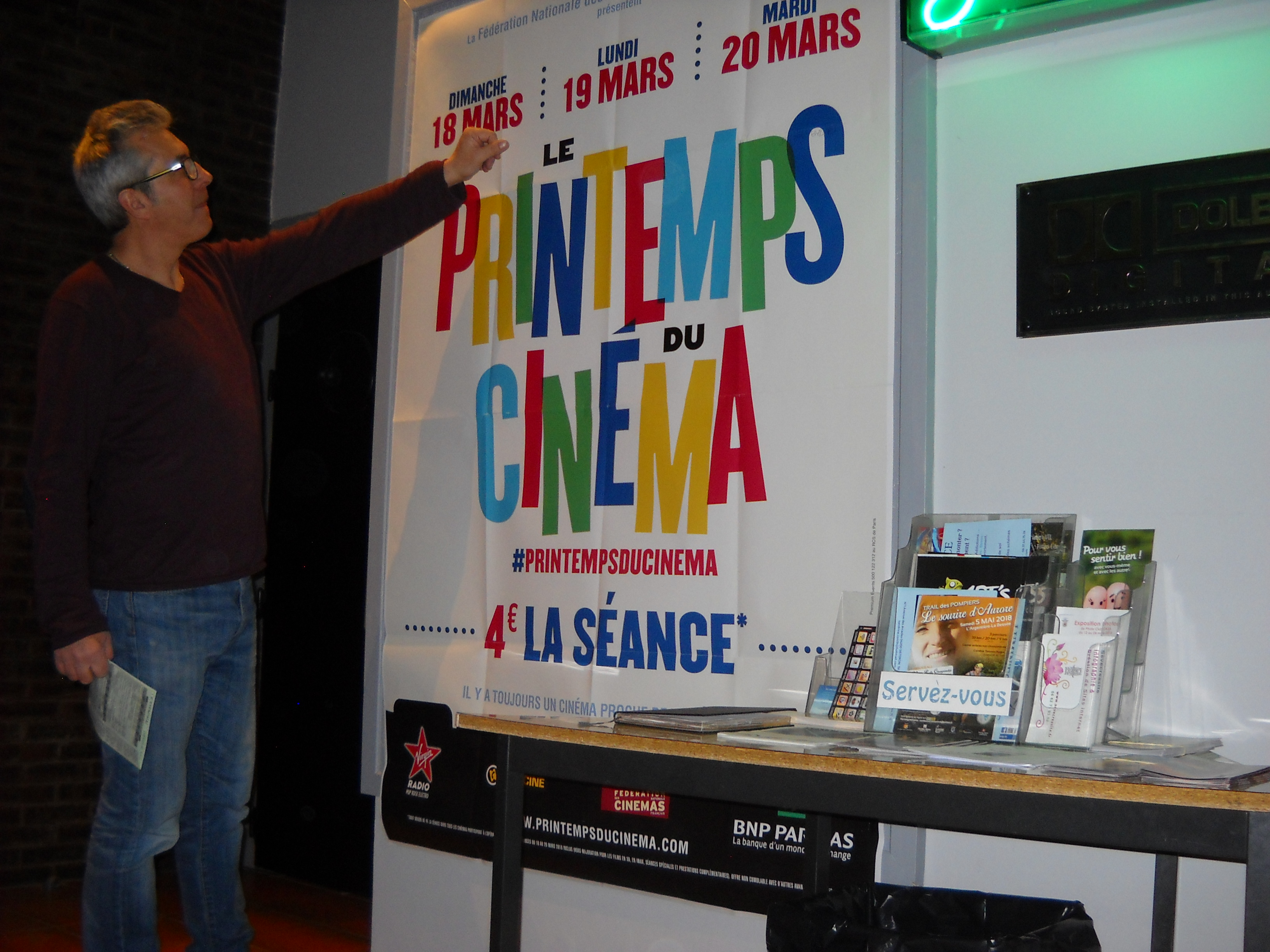 19ème édition pour «le Printemps du cinéma» à Château-Arnoux !