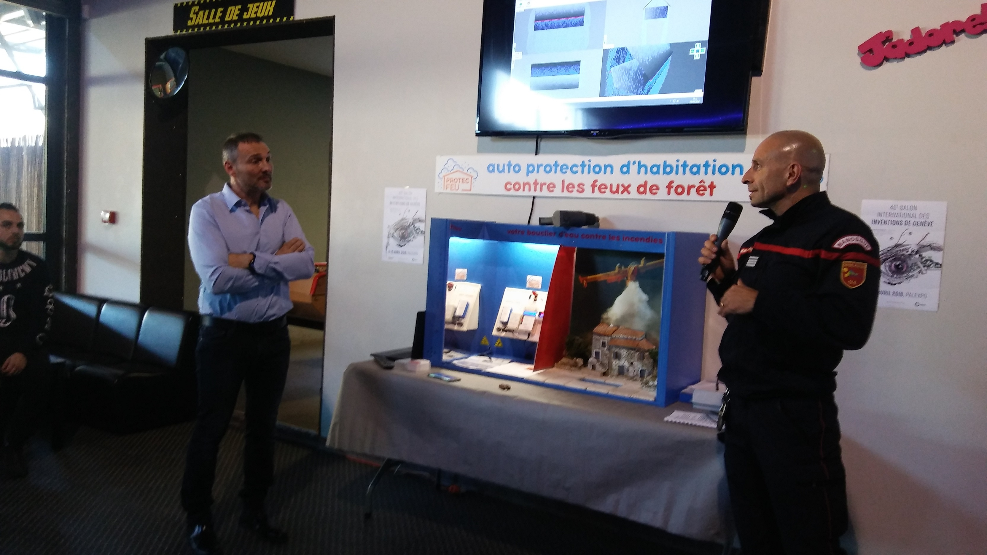 Protec Feu: un dispositif astucieux pour protéger une maison en cas d'incendie