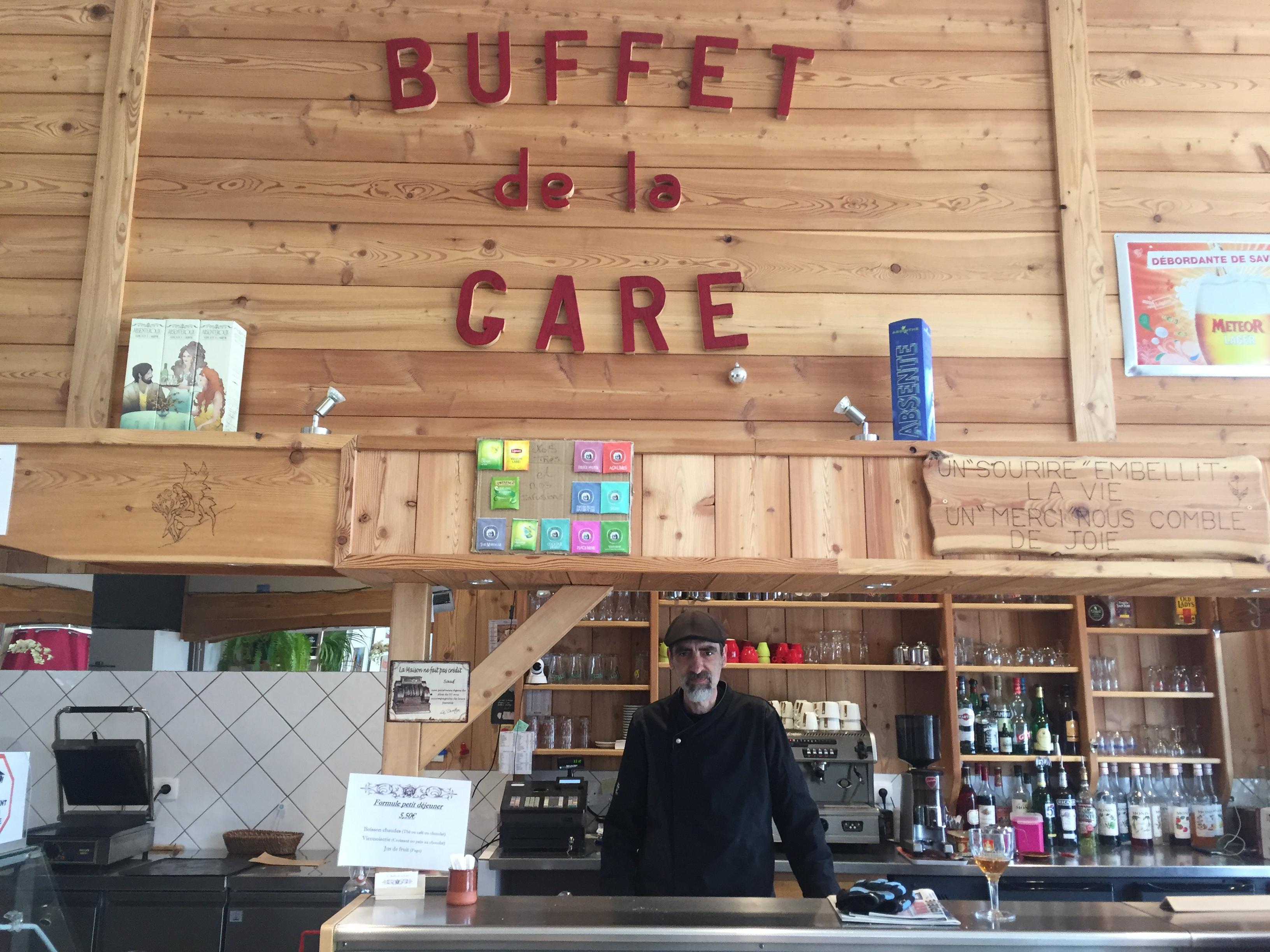 Le gérant du buffet de la gare de Briançon au bord de la rupture !