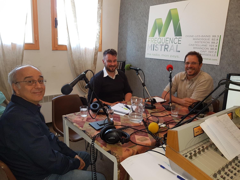 François Malabave, Julien Vimille et Olivier Vilès