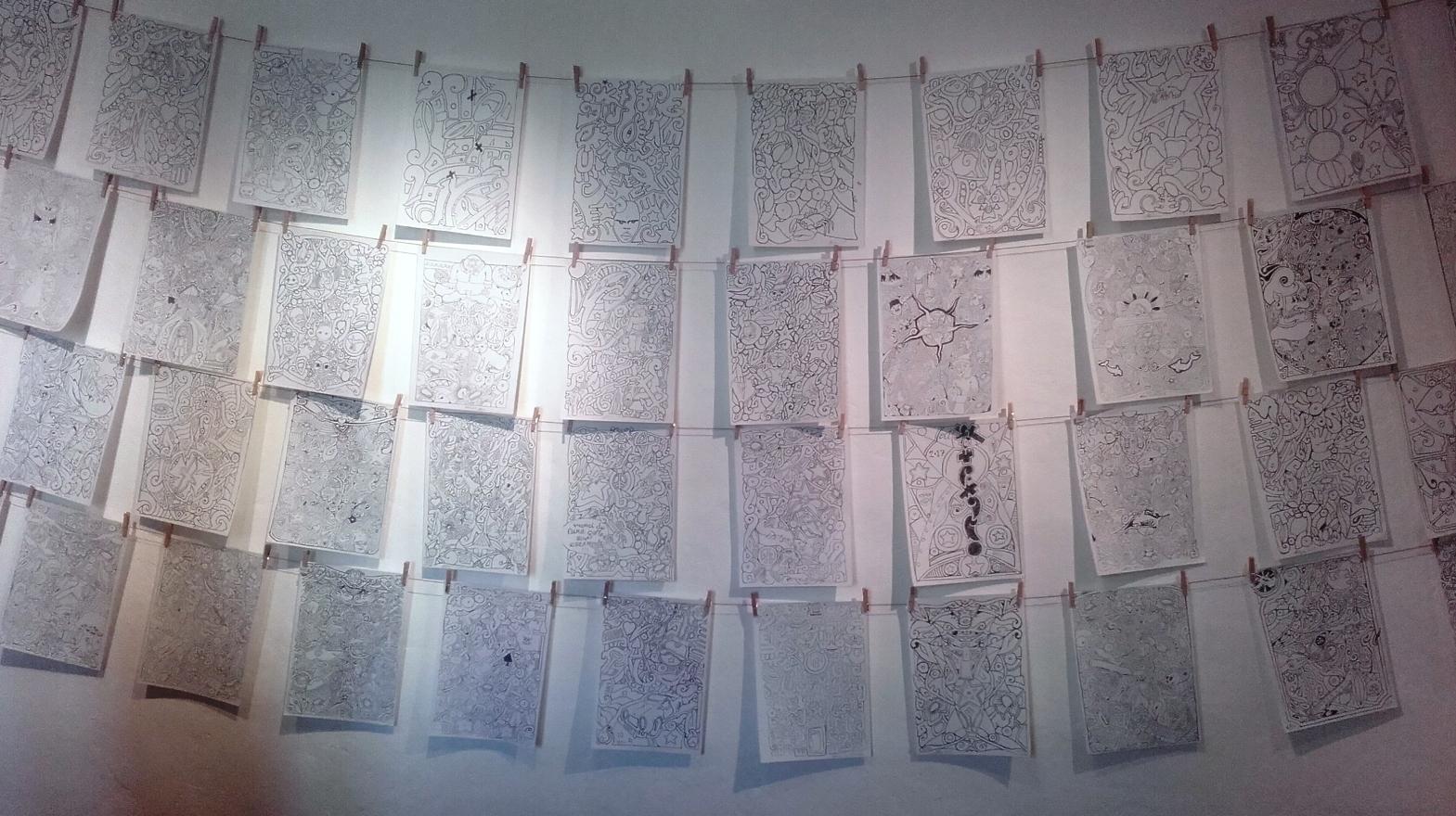 """Exposition """"les élucubrations d'un stylo Bic"""" à la Maison Nature et Patrimoines"""