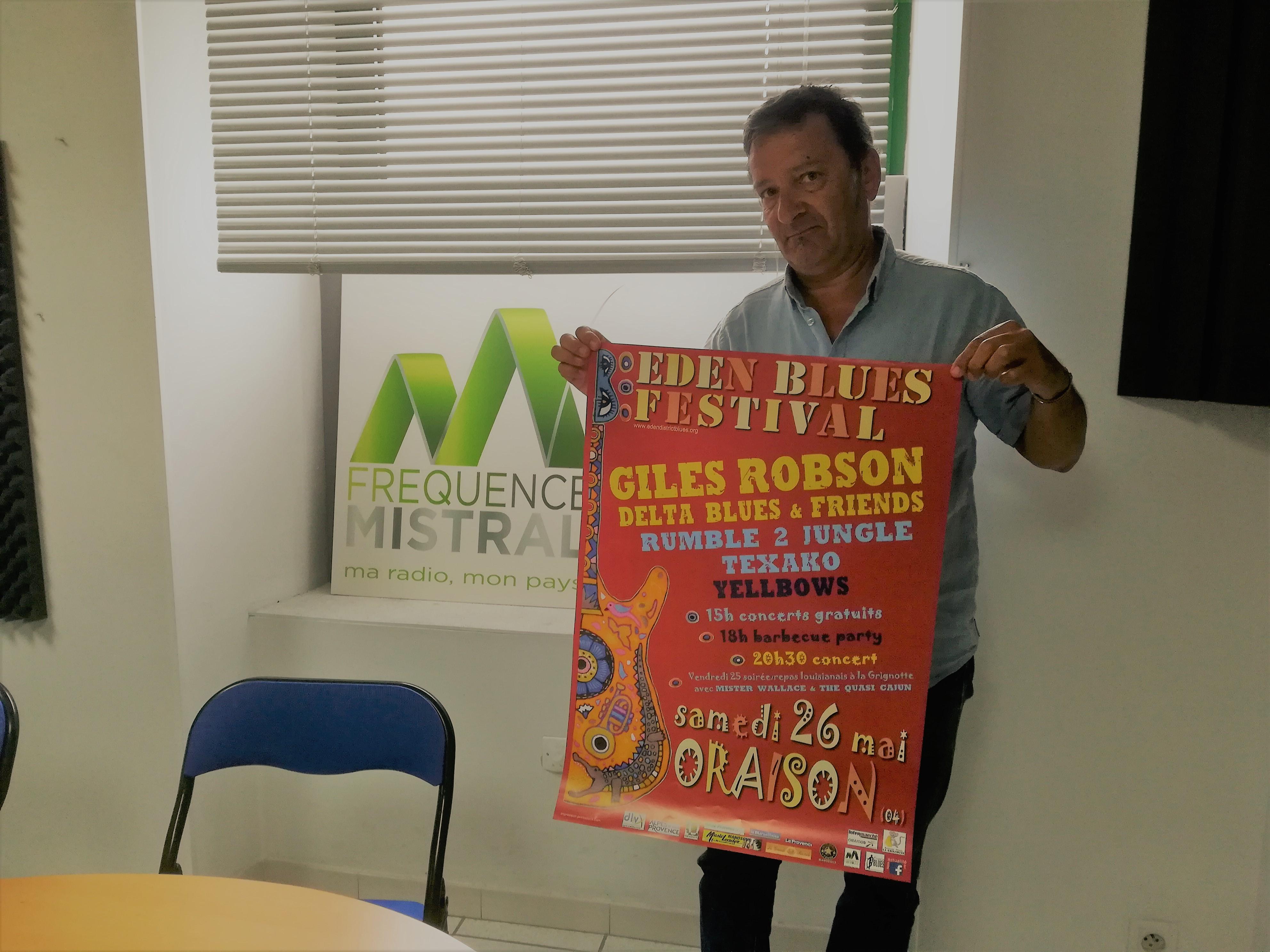 Ce week-end Oraison fait son Eden Blues Festival