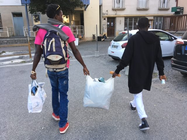 Le refuge si solidaire de Briançon