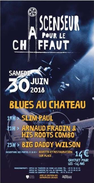 Le blues reprend ses quartiers au Chaffaut