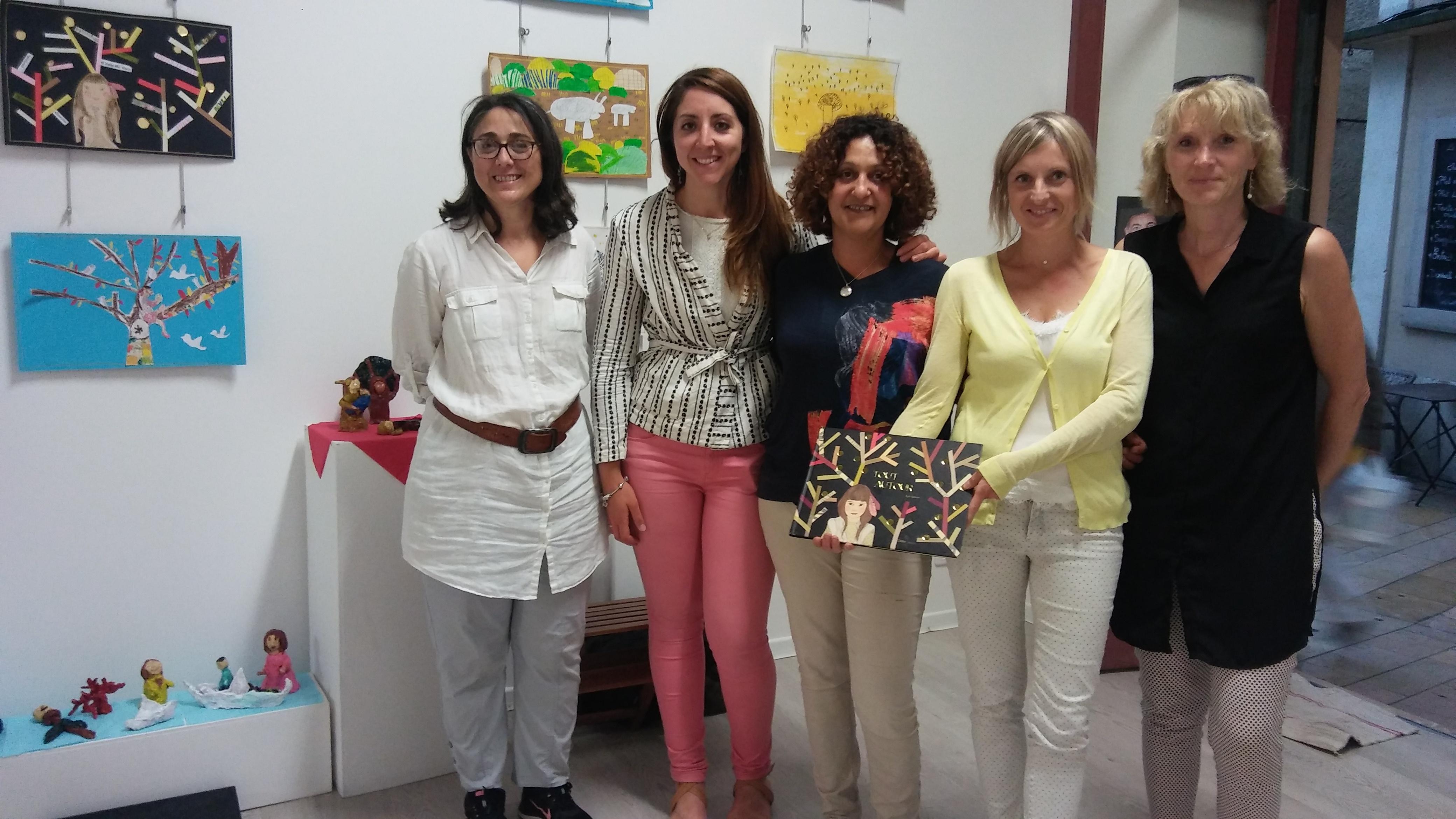 Des jeunes artistes exposent à la galerie Plastik'Art