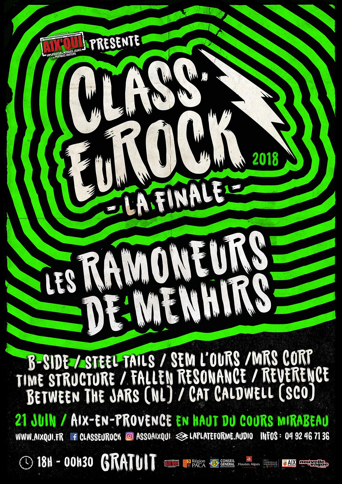 Recap' pour La Finale Class'EuRock 2018 !