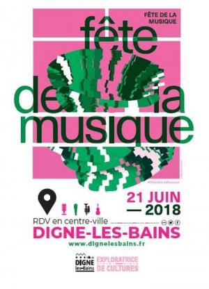 Musique en fête jeudi à Digne