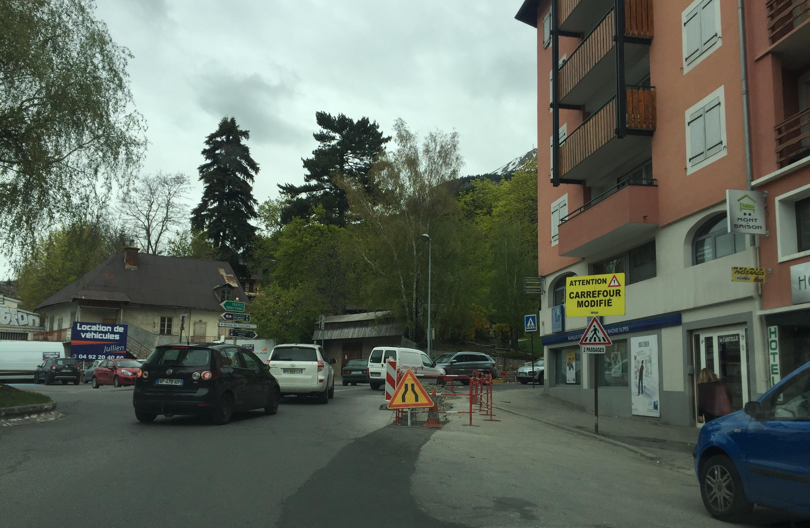 Les citoyens face aux travaux à Briançon !