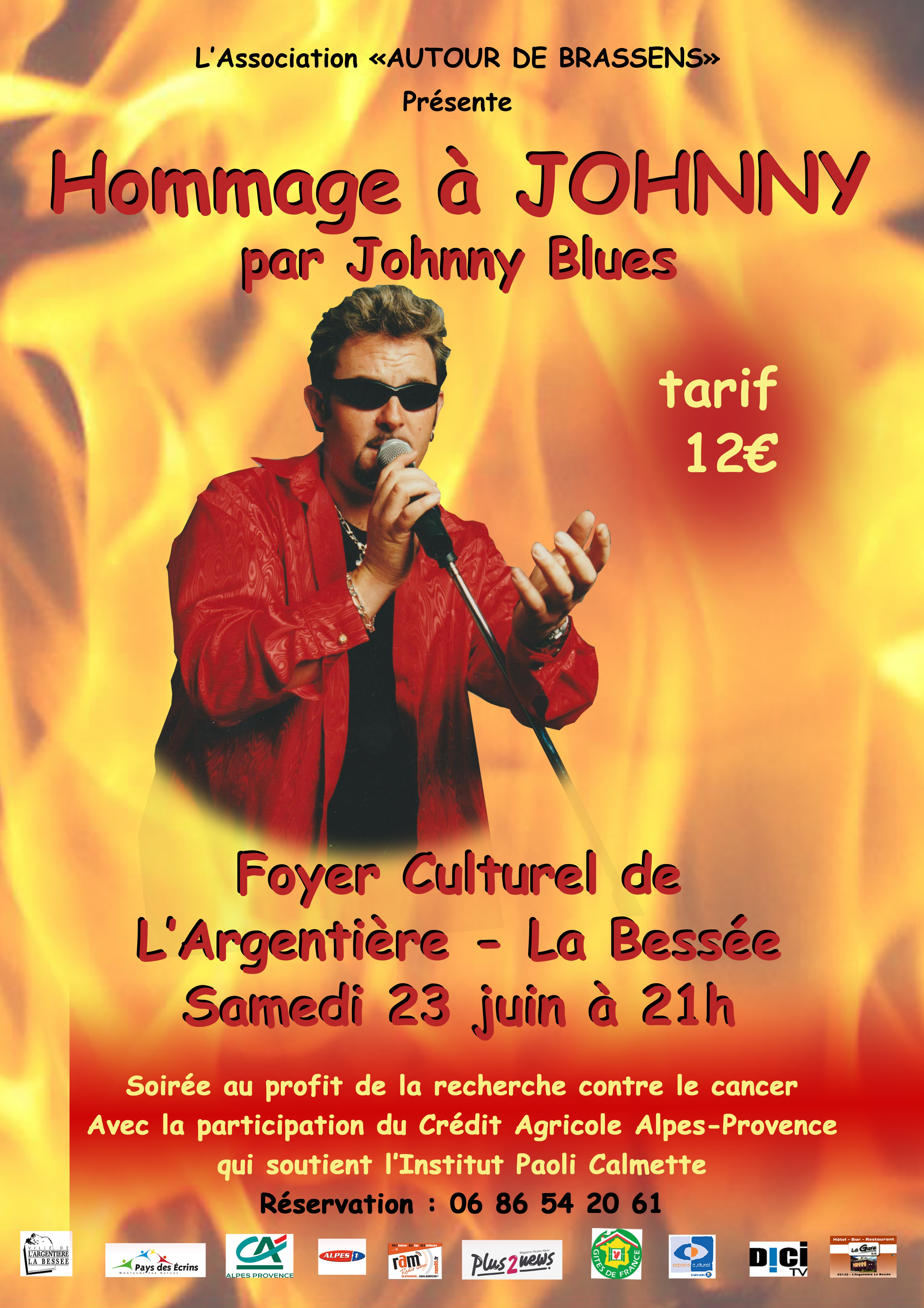 Un concert en hommage à Johnny par Johnny Blues aura lieu ce samedi !