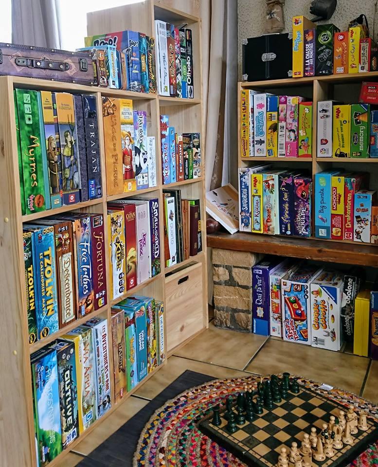 Il vend des jeux de société… à domicile !