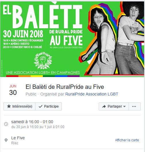 Une RuralPride dans les Alpes de Haute Provence !