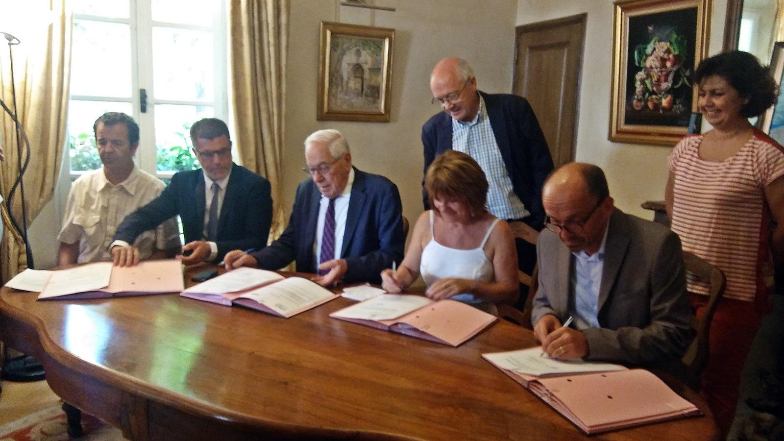Economie: les partenaires persistent et signent!