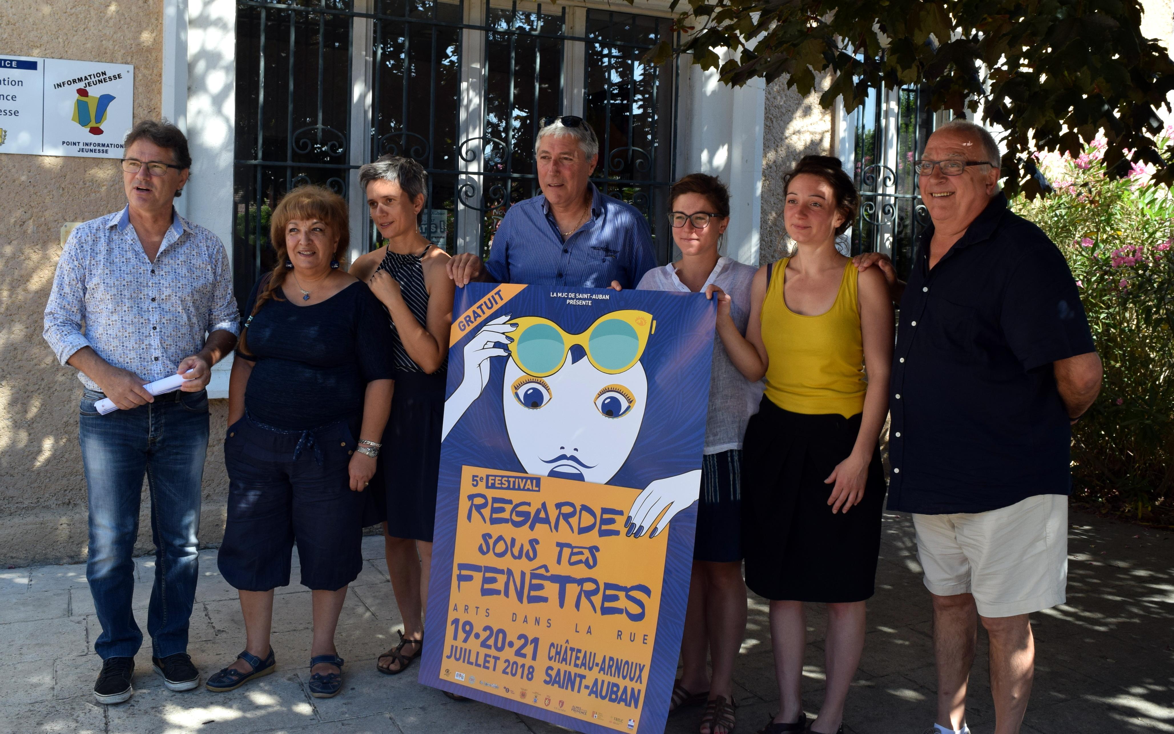 Le festival «Regarde sous tes fenêtres» revient à Saint-Auban