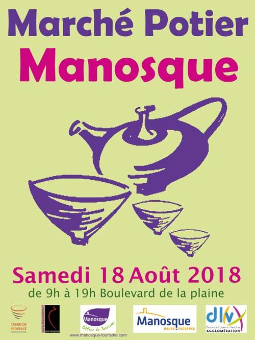 le marché potier de Manosque, c'est ce samedi !