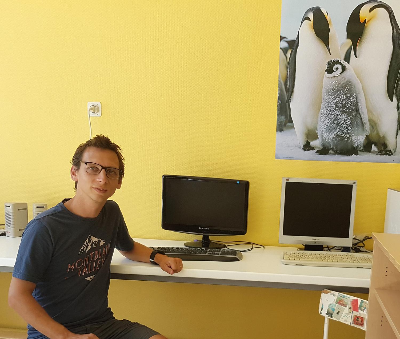 Arnaud Champollion Professeur des écoles au Pigeonnier