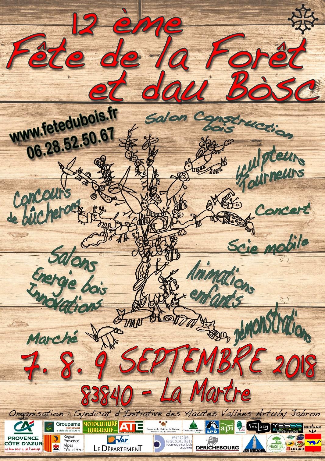La Martre fête le bois et la forêt ce week-end