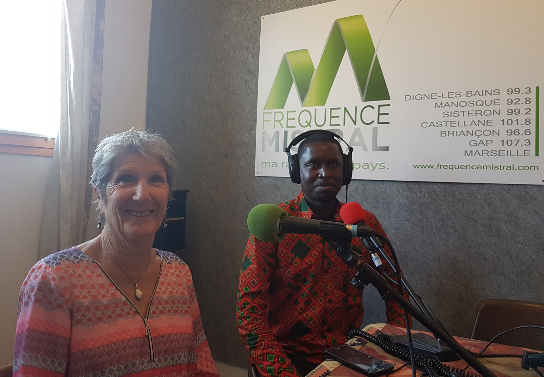 Claudine Thiot et Arfang Touré