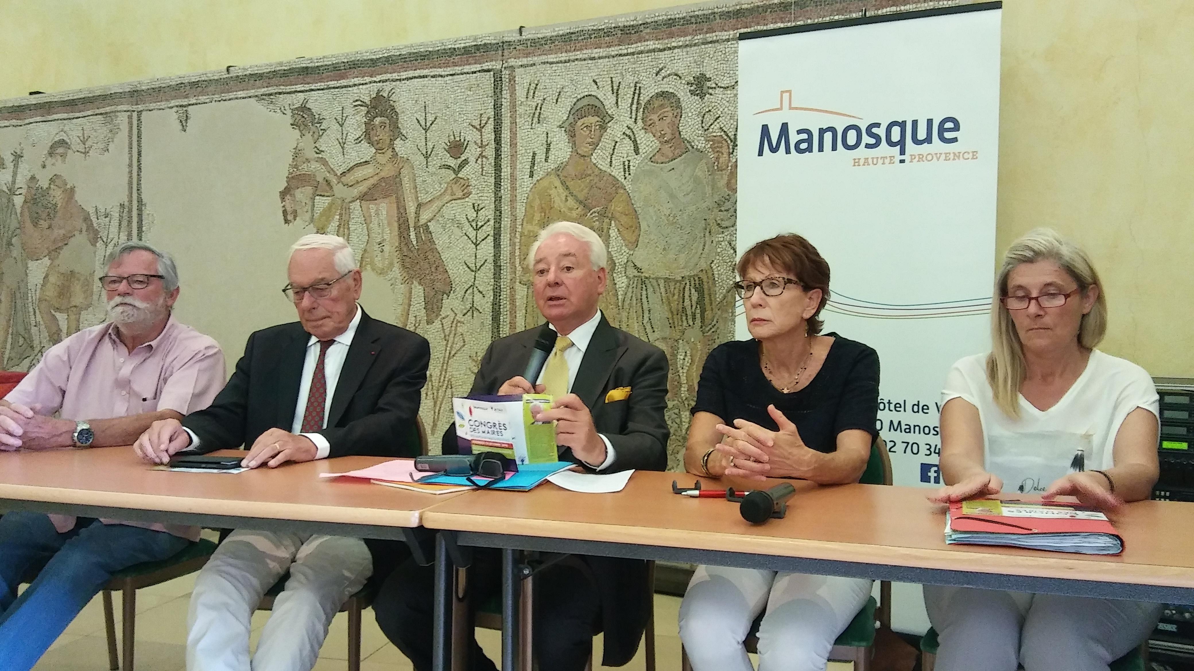 Les maires du 04 en congrès à Manosque