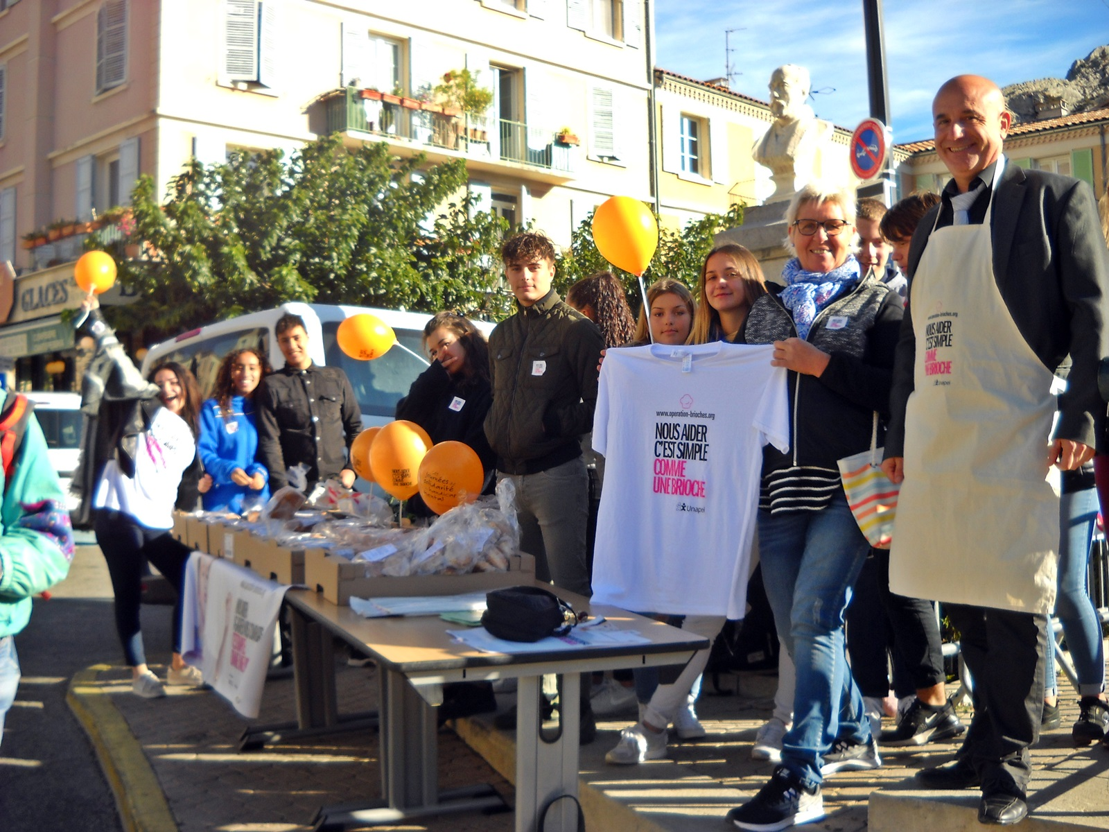 Sisteron : les scolaires ont participé à l'opération brioches