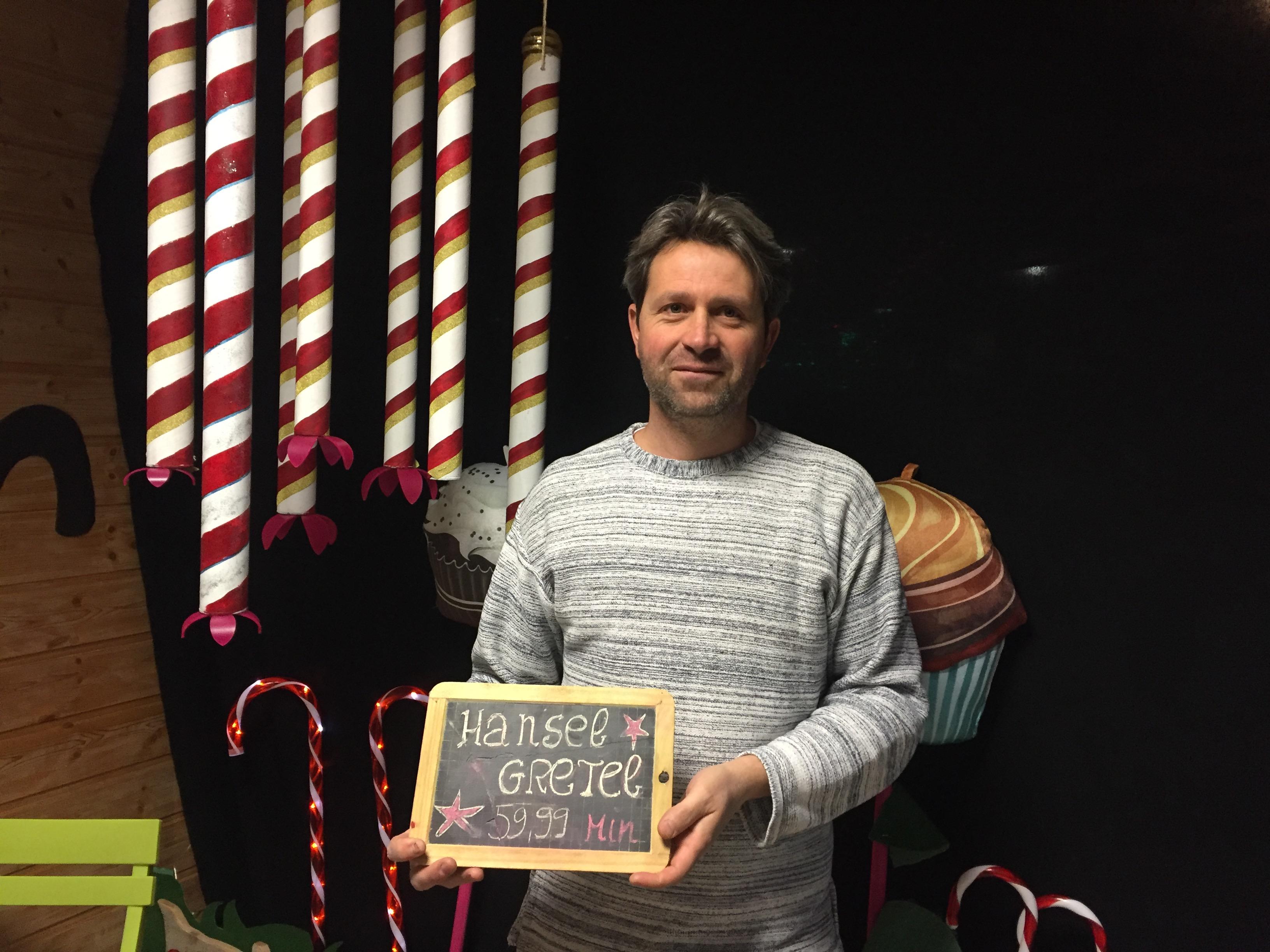 L'histoire d'Hansel & Gretel pour la nouvelle escape room briançonnaise