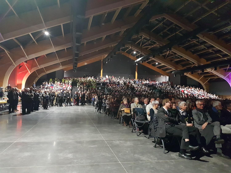 Des vœux et une inauguration en fanfare à Digne