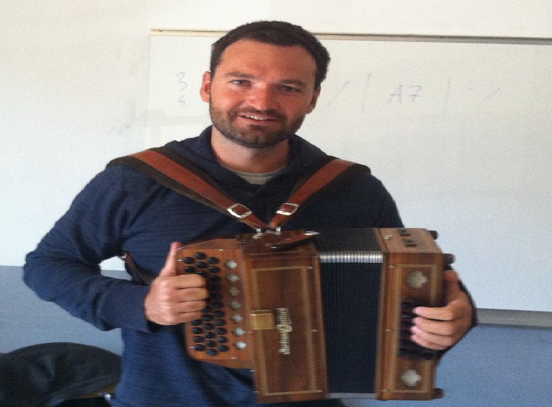 Guillaume et son accordéon, de retour sur nos ondes !