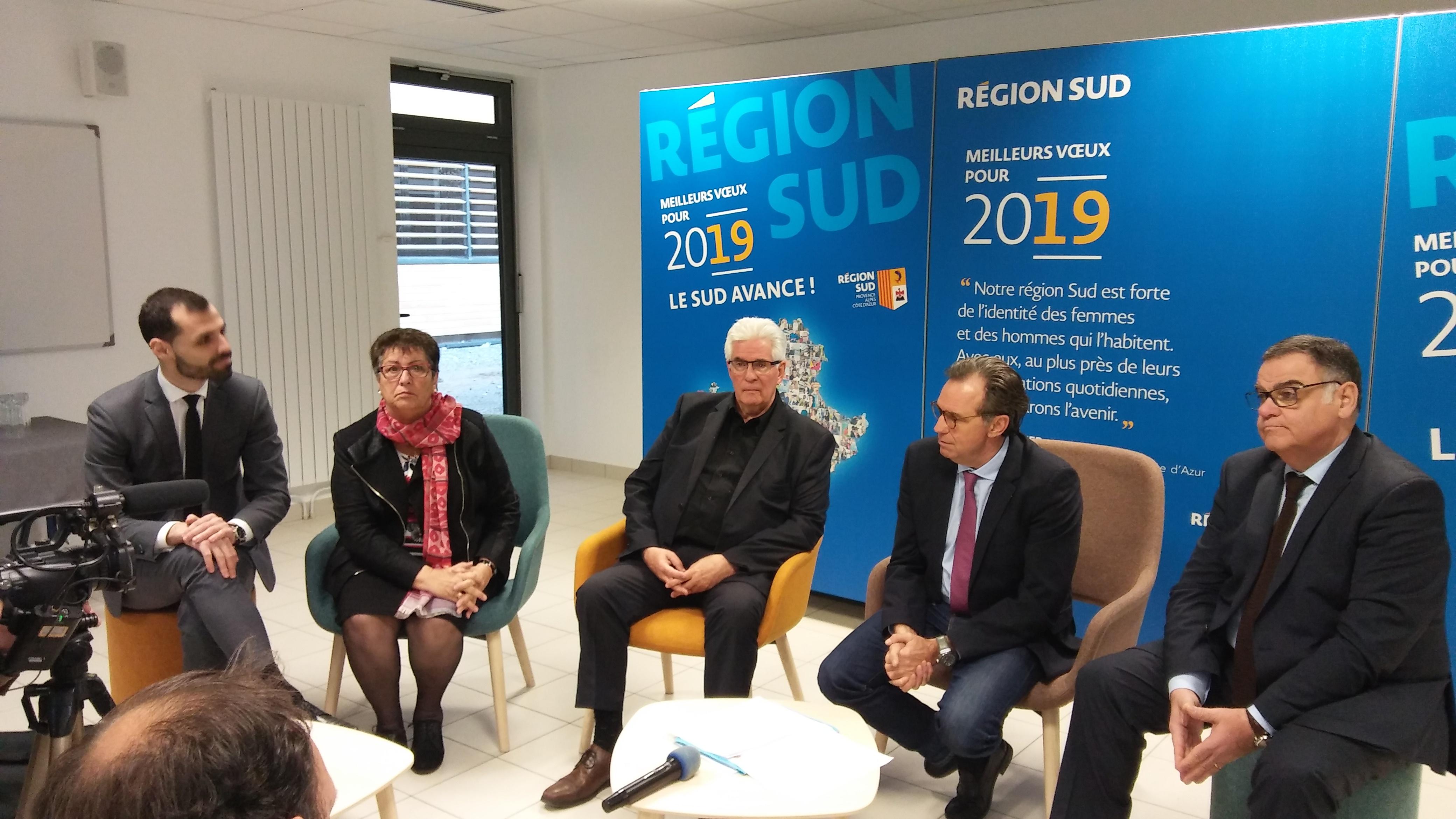 Renaud Muselier à Sisteron : La Région Sud en étendard !