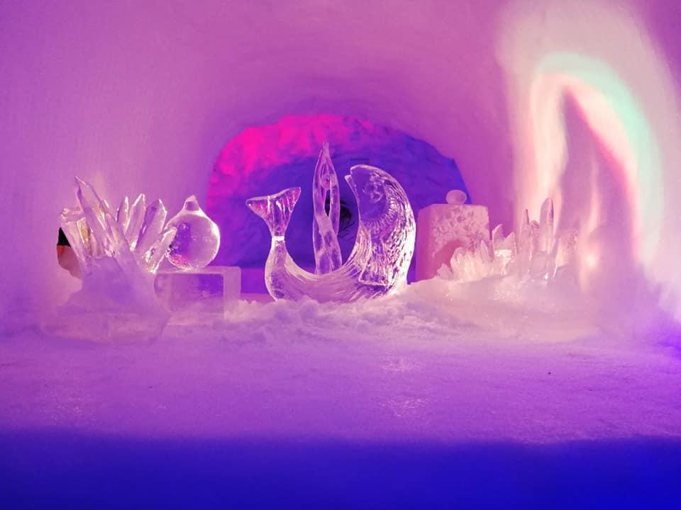 Venez visiter l'igloo géant de Pelvoux !
