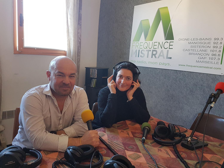 Antoine Thouroude Directeur et Hélène Quily-Salagnac animatrice